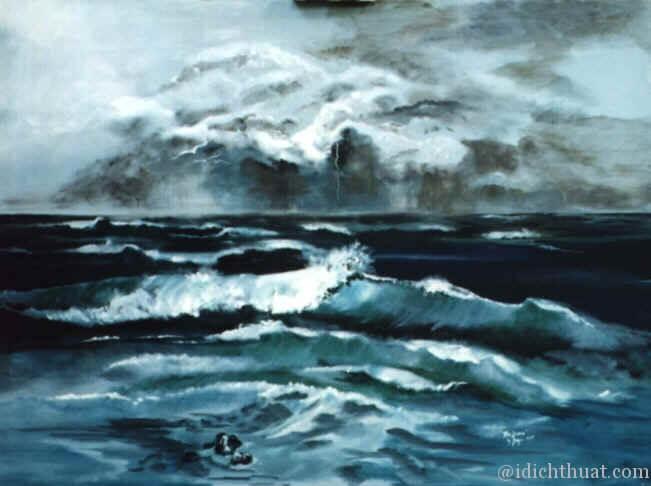 Ocean storm = trận bảo biển