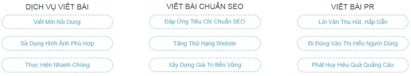 Dịch vụ viết bài chuẩn SEO Google giá rẻ