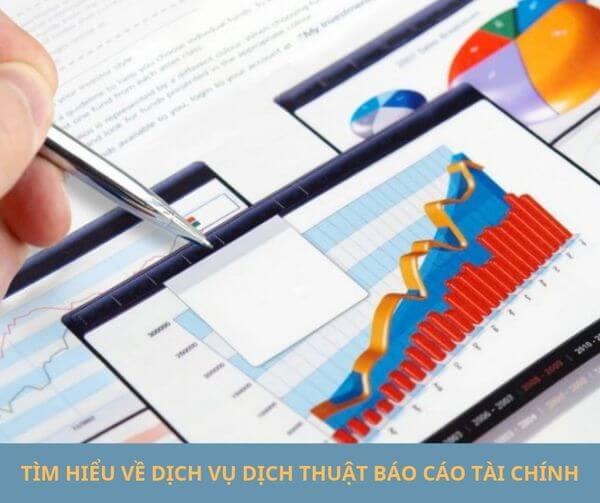dịch vụ dịch thuật báo cáo tài chính