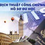 Dịch Thuật Công Chứng Hồ Sơ Xin Du Học Nước Ngoài - Làm Visa Du Học Quốc Tế 5