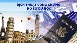 Dịch Thuật Công Chứng Hồ Sơ Xin Du Học Nước Ngoài - Làm Visa Du Học Quốc Tế 2