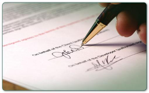 Prestigious contract translation