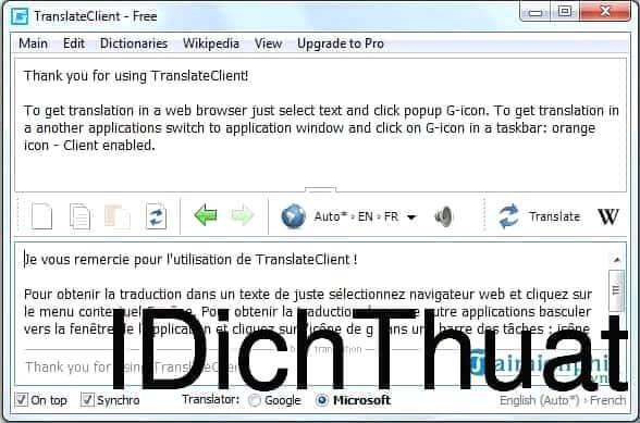 Lingoes - Phần mềm dịch ngôn ngữ ở mọi nơi trên máy tính