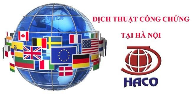 Công Ty Dịch thuật – Phiên Dịch Haco luôn đặt chất lượng lên hàng đầu