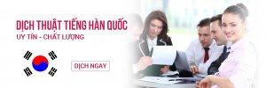 Top 05 Prestige Korean Translation Quotation Company in HCM City