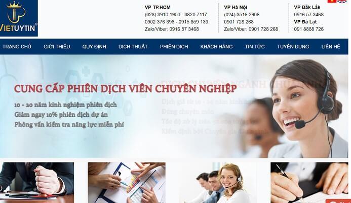 Công ty dịch thuật Việt Uy Tín là một trong top 5 công ty, báo giá dịch thuật tiếng Hàn tại HCM