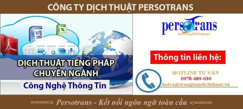 Công ty Dịch thuật Persotrans