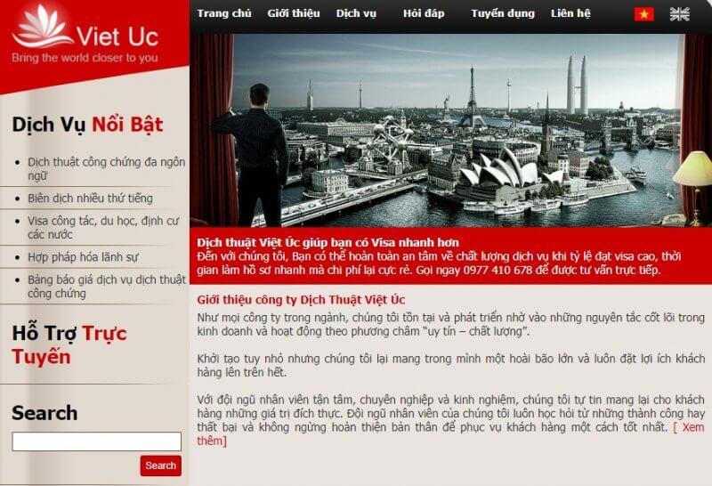 Công ty dịch thuật Việt Úc tự tin sẽ cung cấp cho doanh nghiệp những bản dịch thuật tiếng Hàn hoàn hảo