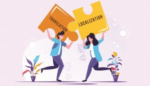 Difference between localization and translation dịch