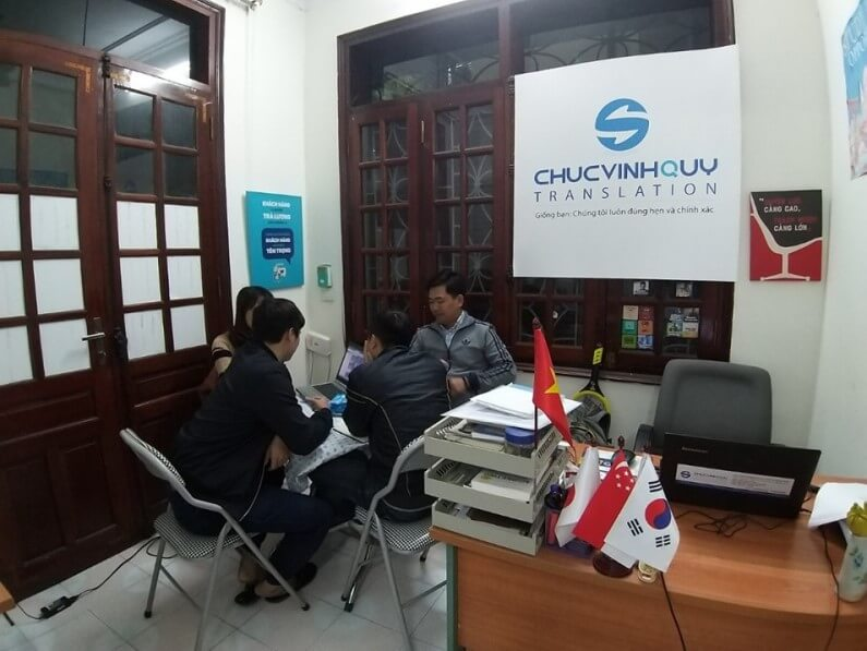 Revealing the top 5 most prestigious companies, quotes for Russian translation in Hanoi