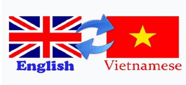 dịch vụ dịch thuật Tiếng Việt – Tiếng Anh