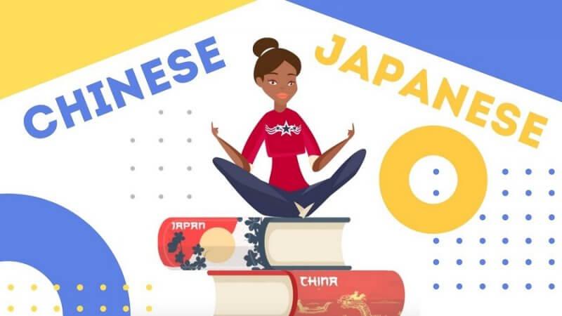 So Sánh Sự Giống Và Khác Nhau Giữa Tiếng Trung Và Tiếng Nhật 4