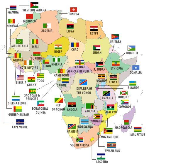 Các Quốc Gia Nói Tiếng Anh Ở Châu Phi