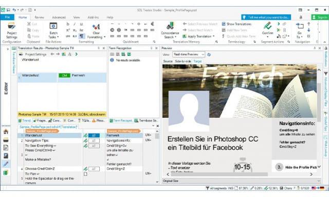 SDL Trados - Online Translation Tool
