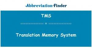 Translation Management System (TMS)
